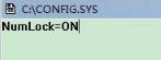 Windows7系统怎么设置开机自动启动NumLock键