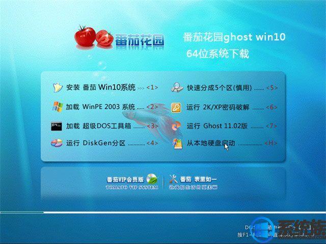 番茄花园win10 64位旗舰版下载v0117