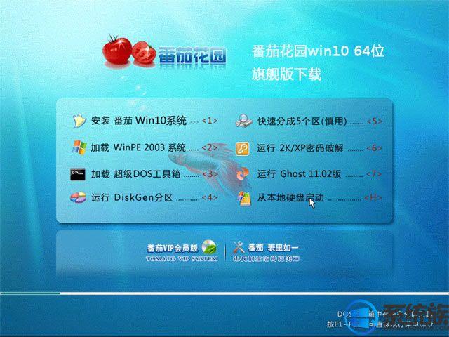 番茄花园win10 64位旗舰版下载v0125