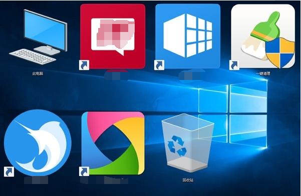 Win10桌面系统应用图标不显示解决方法视频
