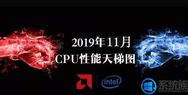 2019年11月最新CPU性能天梯图完整版 分析2019年CPU性能排行