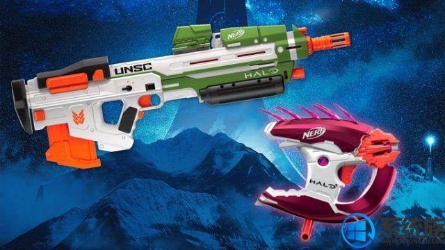 343工作室与孩之宝合作研发了《光环》游戏主题软弹枪