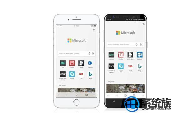 iOS版Edge浏览器未针对iPhone X做优化,iPhone X用户无法体验