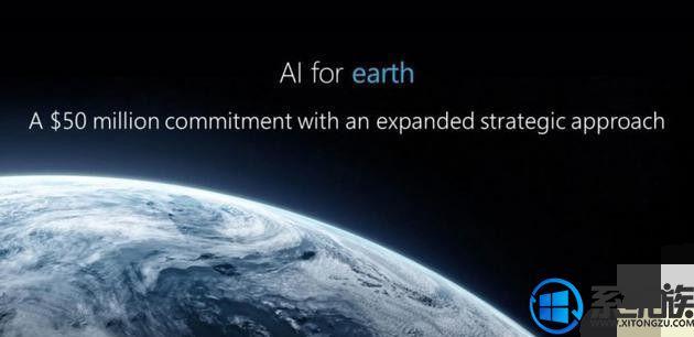 大手笔!微软将投资5000万美元用于地球人工智能计划
