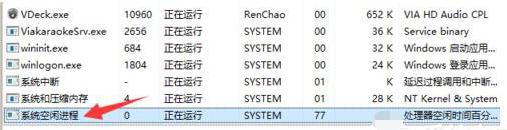 Win7系统System Idle Process进程CPU占用率高的解决方法