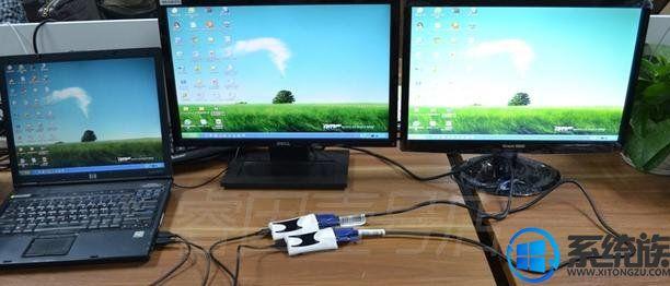 给win7系统设置双屏显示的方法