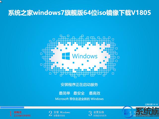 系统之家windows7旗舰版64位iso镜像下载V1805