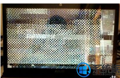 打开长期不用的电脑屏幕花屏的处理方法