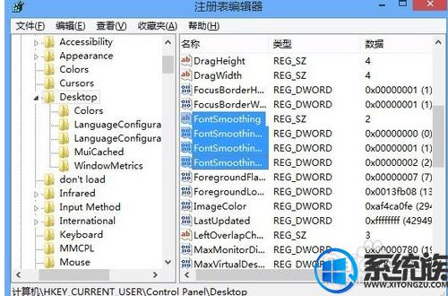win8系统cleartype文本调谐器怎么设置