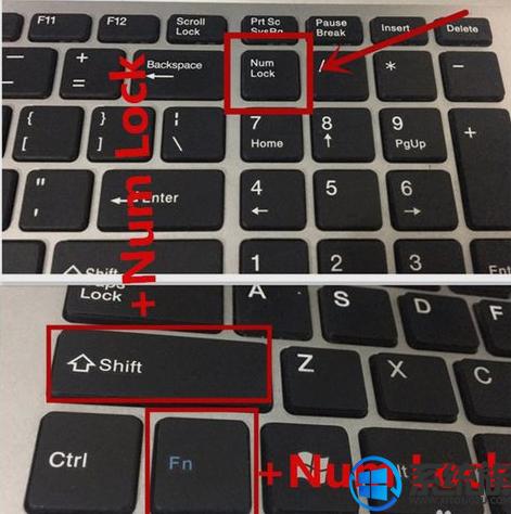 笔记本电脑按键错乱按字母出现的不对应怎么办