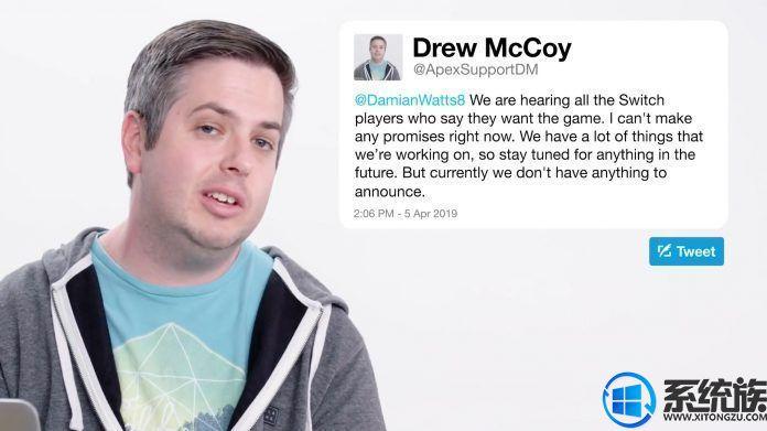 《Apex英雄》的执行制作人在推特上宣布离职